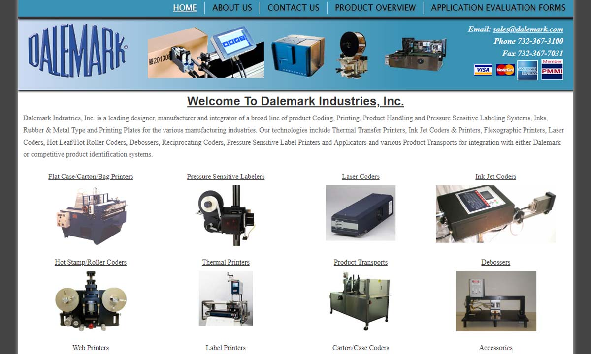 Dalemark® Industries Inc  | Marking Machinery Manufacturers