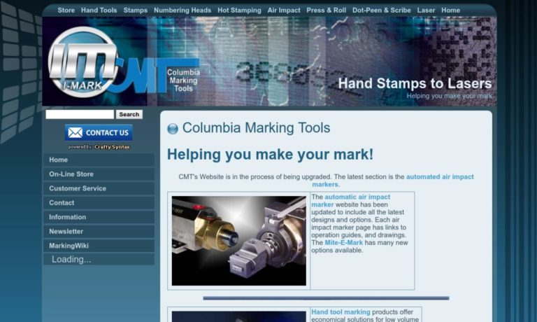 Columbia Marking Tools Inc.