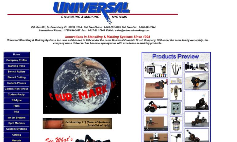 Universal Stenciling & Marking Systems, Inc.